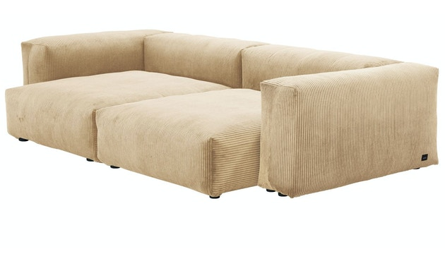 Large 2-Sitzer Cord Velours