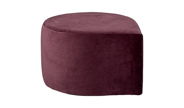 AYTM - Stilla Pouf - Bordeaux - 1