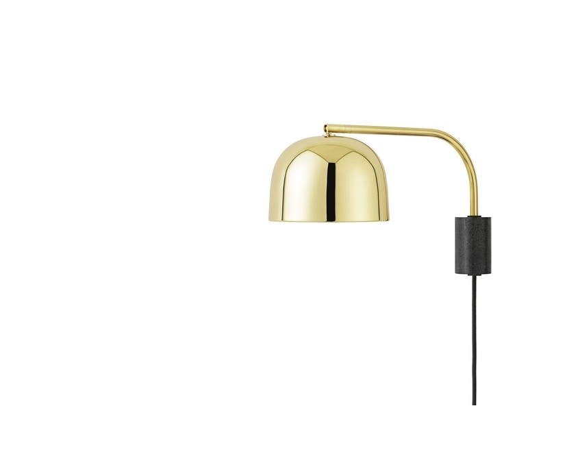 Normann Copenhagen - Grant Wandleuchte - 43 cm - brass - 1