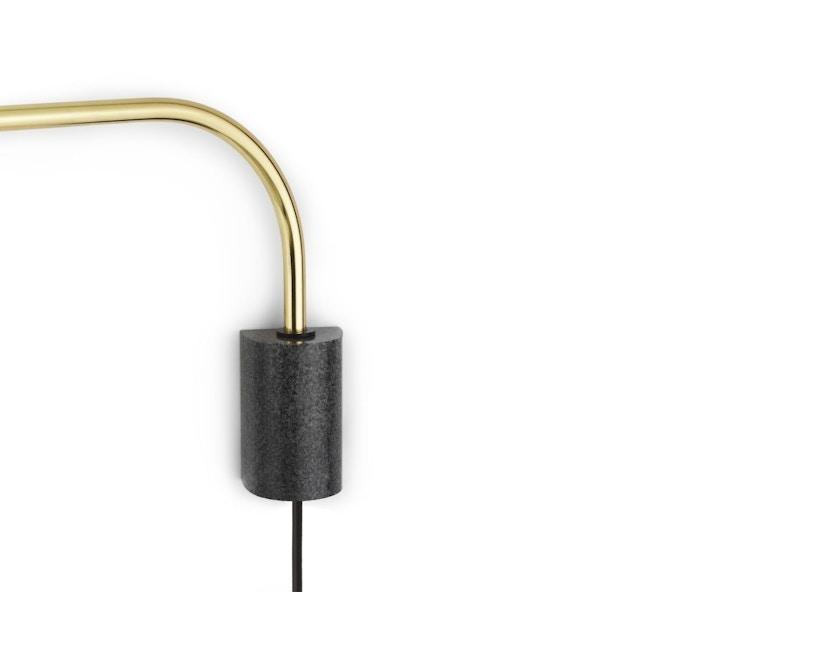 Normann Copenhagen - Grant Wandleuchte - 43 cm - brass - 3