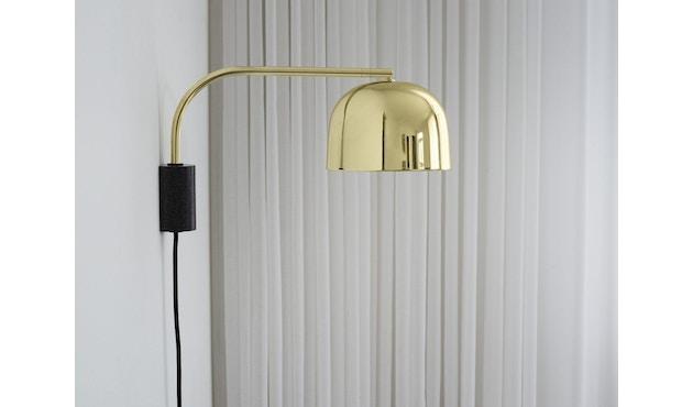 Normann Copenhagen - Grant Wandleuchte - 43 cm - brass - 4