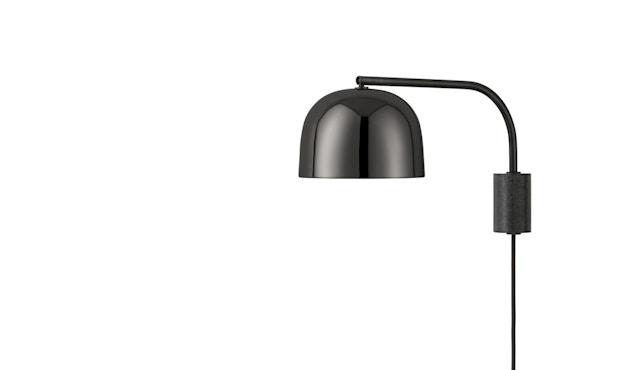 Normann Copenhagen - Grant Wandlamp - zwart/zwart - 43 cm - 1
