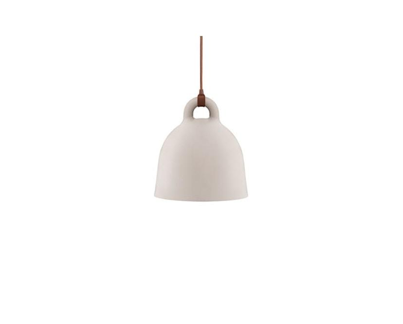 Normann Copenhagen - Bell Leuchte - S - sandfarben - 3