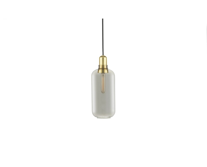 Normann Copenhagen - Suspension Amp brass - Grand - fumé/Laiton - 1