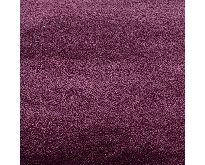 Bloomingville - Pleat Hocker - Polyester - rot - 1