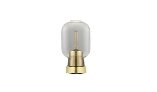 Normann Copenhagen - Amp brass Tischleuchte - smoke/brass - 1
