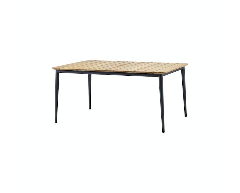 Cane-line - Core Gartentisch - Lava-grey - 160x100cm - 1