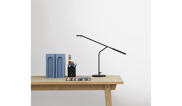 Normann Copenhagen - Flow-tafellamp - donkergroen - 3