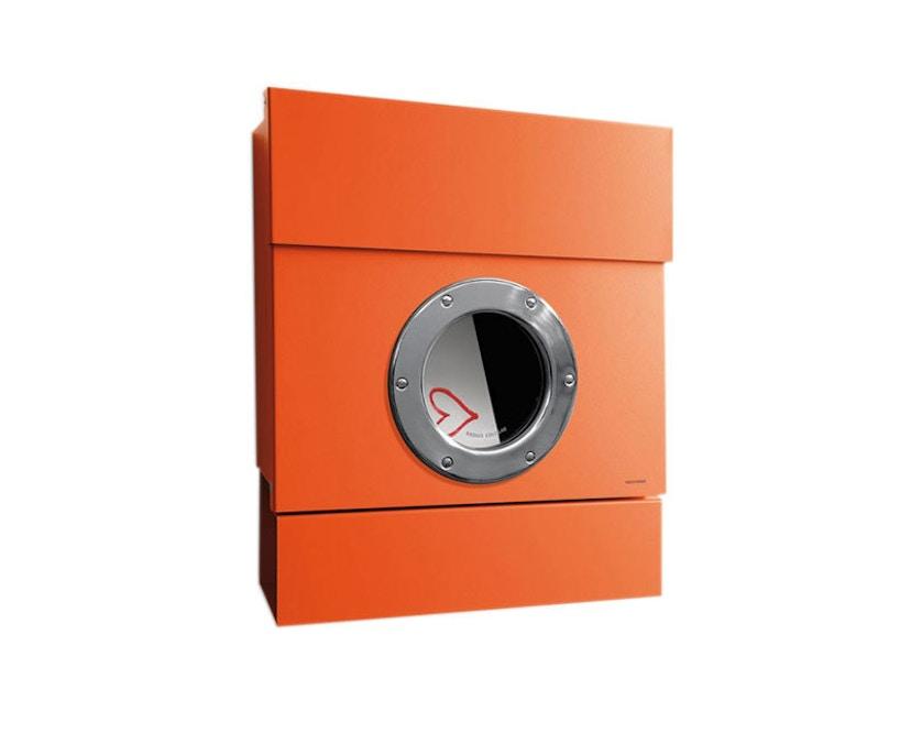 Radius - Letterman brievenbus 2 - oranje - 1