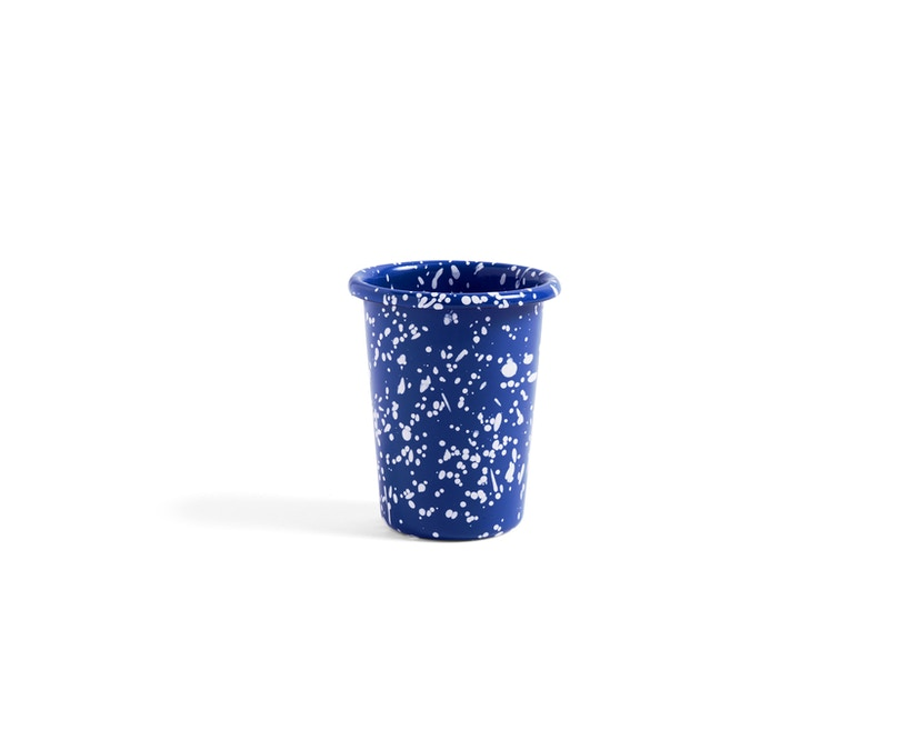 HAY - Enamel Becher - blue - 1