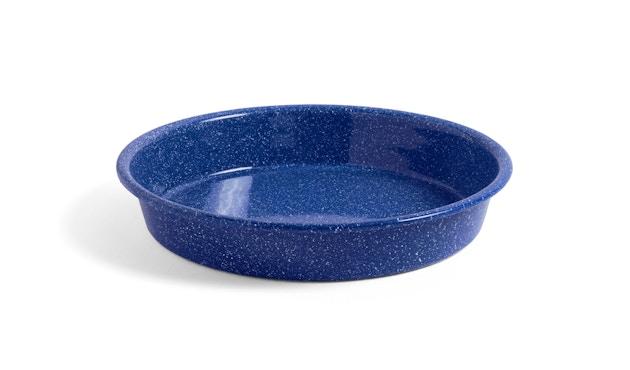 HAY - Enamel Tablett - dusty blue - 1