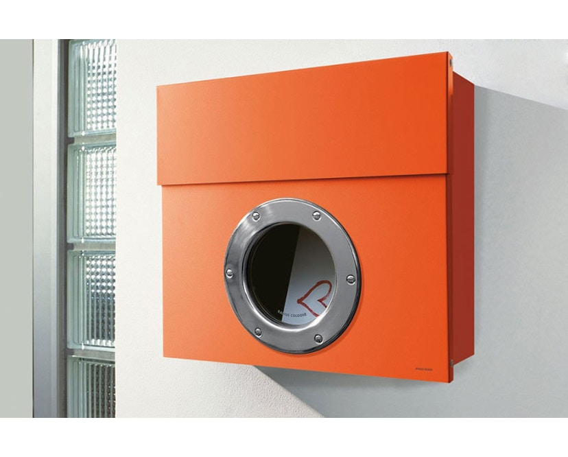 Radius - Letterman Briefkasten 1 - orange - 2