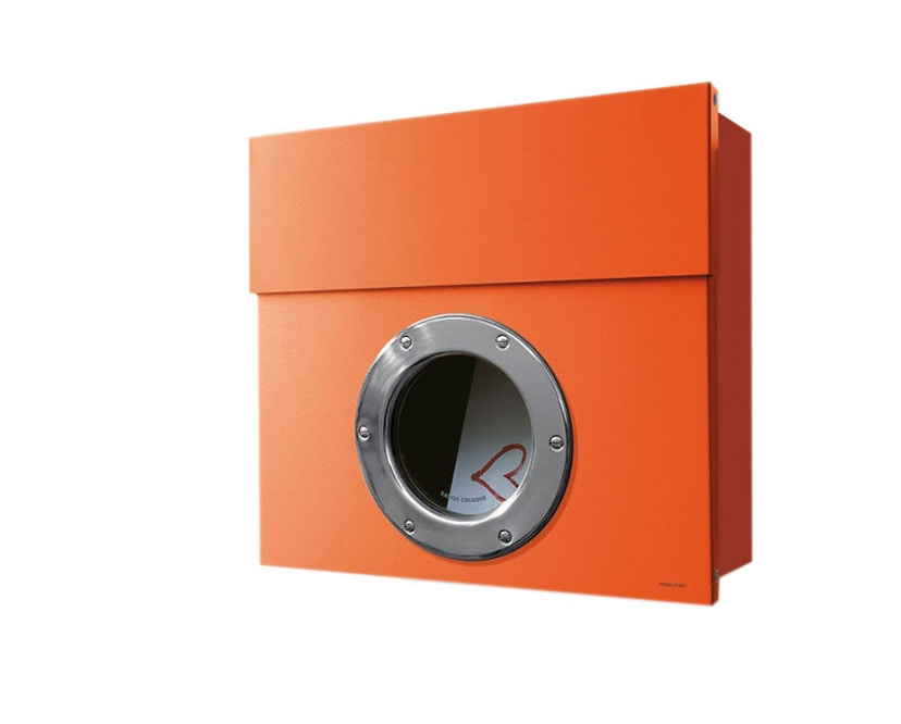 Radius - Letterman Briefkasten 1 - orange - 1