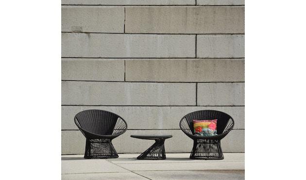 Jan Kurtz - Ray Lounge salontafel - zwart - 1