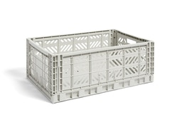 HAY - Colour Crate Korb - light grey - L - 1