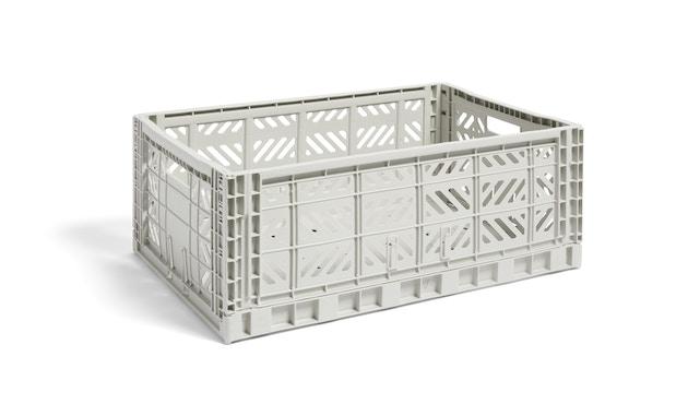 HAY - Colour Crate Mand - L - lichtgrijs - 1