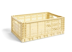 HAY - Colour Crate Korb - light yellow - L - 1