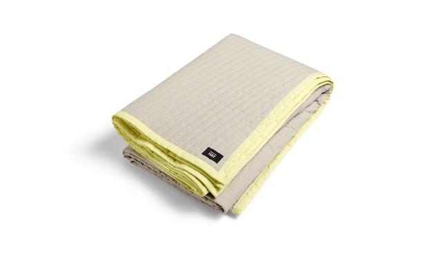 HAY - Bias Quilt Decke - lemon sorbet - 245x195 - 1