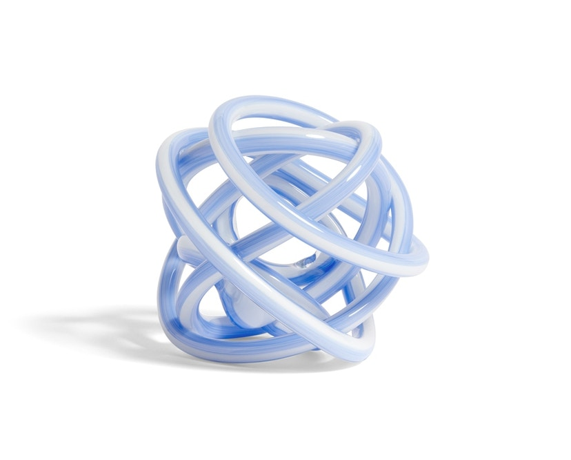 Knot glazen knoop