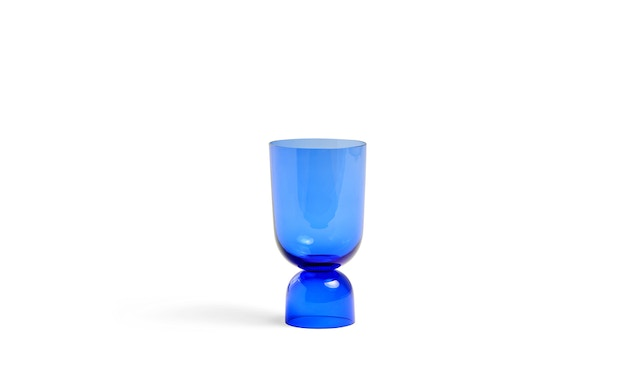 HAY - Bottoms Up Vase - electric blue - S - 1