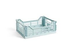 Colour Crate Korb - arctic blue  - M