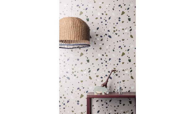 ferm LIVING - Little Architect tafel - donkerblauw - 4