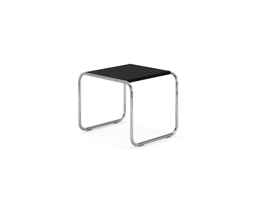 Knoll International - Breuer Laccio Tisch - klein - Laminat schwarz  - 0