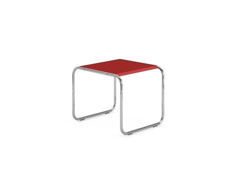 Knoll International - Breuer Laccio Tisch - klein - Laminat rot - 0