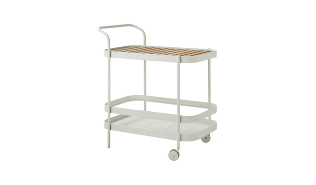 Cane-line - Roll bar trolley - wit - 2