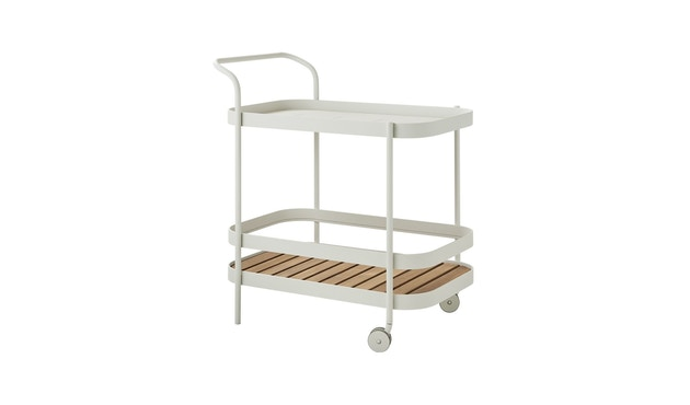 Cane-line - Roll bar trolley - wit - 1