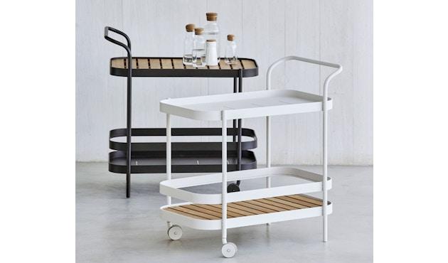 Cane-line - Roll Barwagen - lavagrau - 8