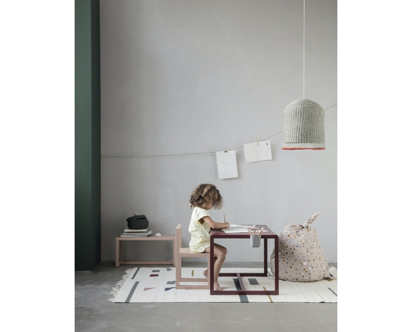 ferm LIVING - Little Architect tafel - donkerblauw - 3