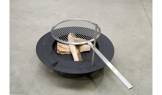 Radius - Fireplate barbecuerooster - L Ø 100 cm - 2