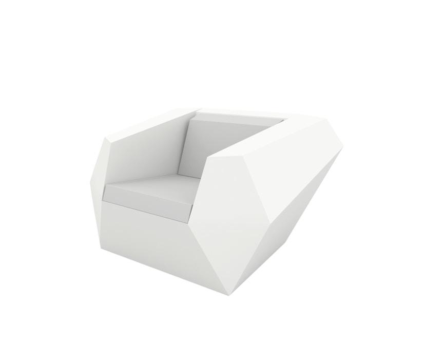 Vondom - FAZ Lounge Sessel - weiß - 0