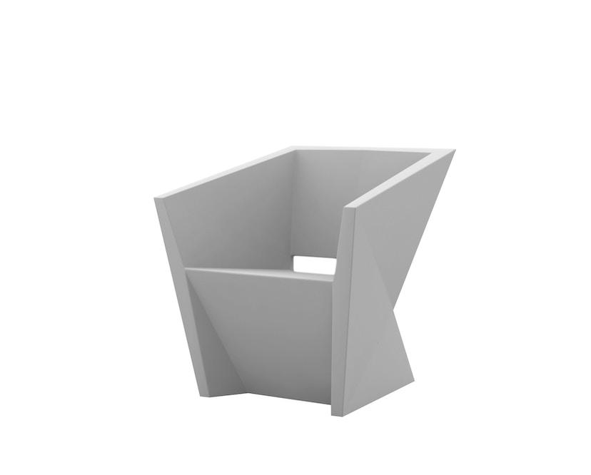 Vondom - FAZ Armlehnstuhl - stahl - 0