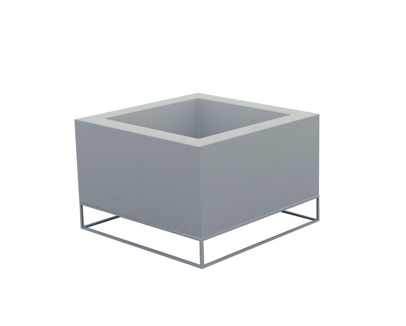Vondom - VELA Land plantenbak - staalgrijs - basic - 0