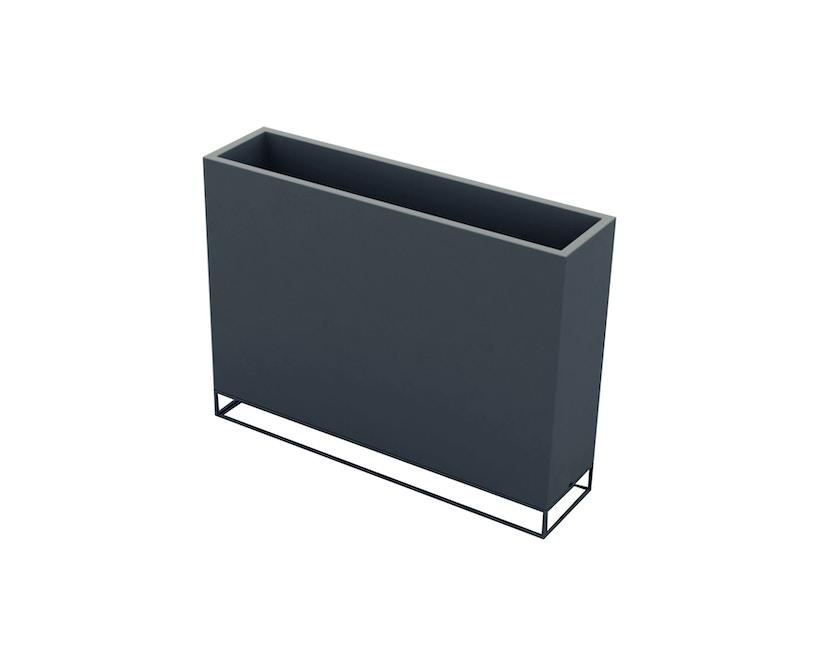 Vondom - VELA Wall Blumentopf - 30x120x90 - basic - anthrazit - 0
