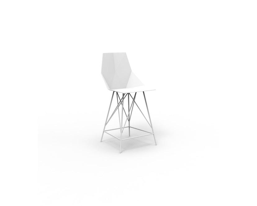 Vondom - FAZ Barhocker - weiß - 0