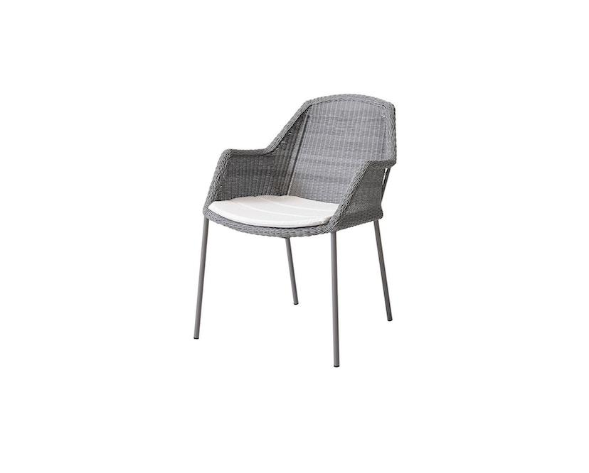 Cane-line - zitkussen voor Breeze-fauteuil - Natté wit - 1