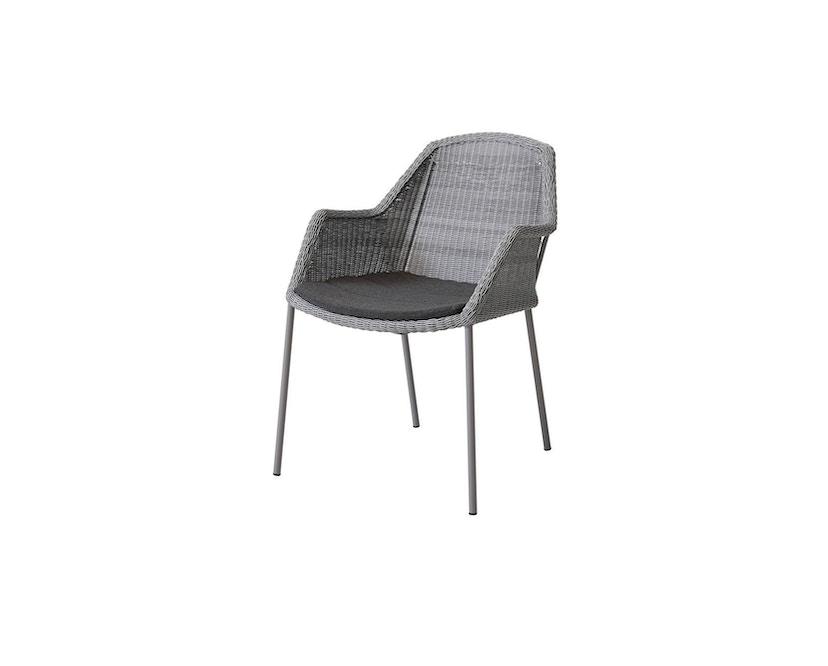 Cane-line - Sitzkissen für Breeze Sessel - schwarz - 1