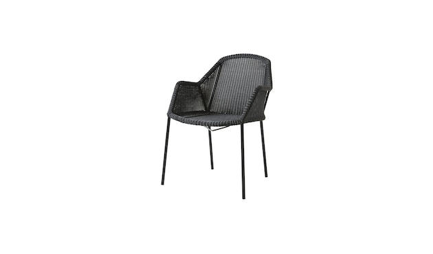 Cane-line - Breeze Sessel - schwarz - 1
