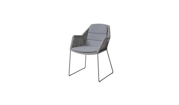 Cane-line - Zitkussen voor Breeze-stoel - Natté grijs - 1