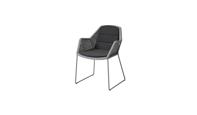 Cane-line - Sitzkissen für Breeze Stuhl - schwarz - 1