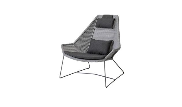 Cane-line - Set kussens voor Breeze highback fauteuil - Natté zwart - 1