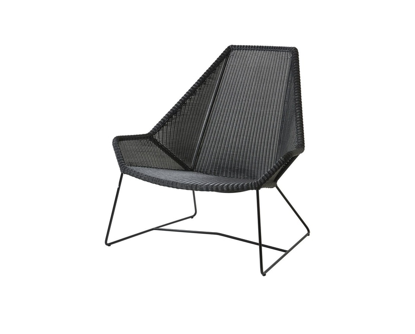 Cane-line - Breeze Highback fauteuil - zwart - 1