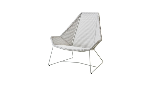 Cane-line - Breeze Highback fauteuil - wit - 1