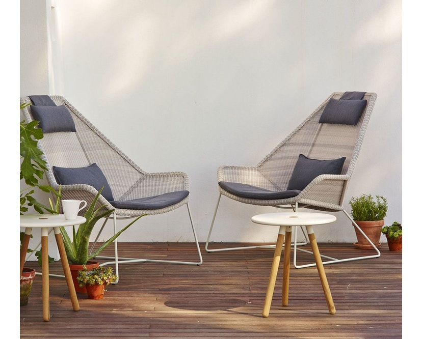 Cane-line - Breeze Highback fauteuil - wit - 6