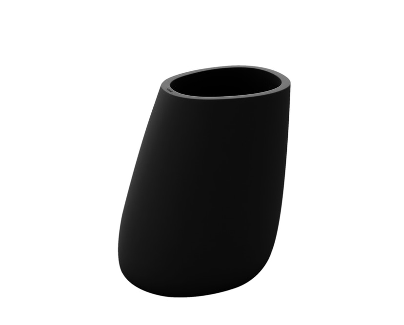 Vondom - Stone Blumentopf - schwarz - 70 - 0