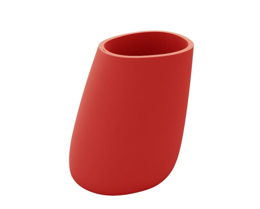 Vondom - Stone Blumentopf - rot - 100 - 0