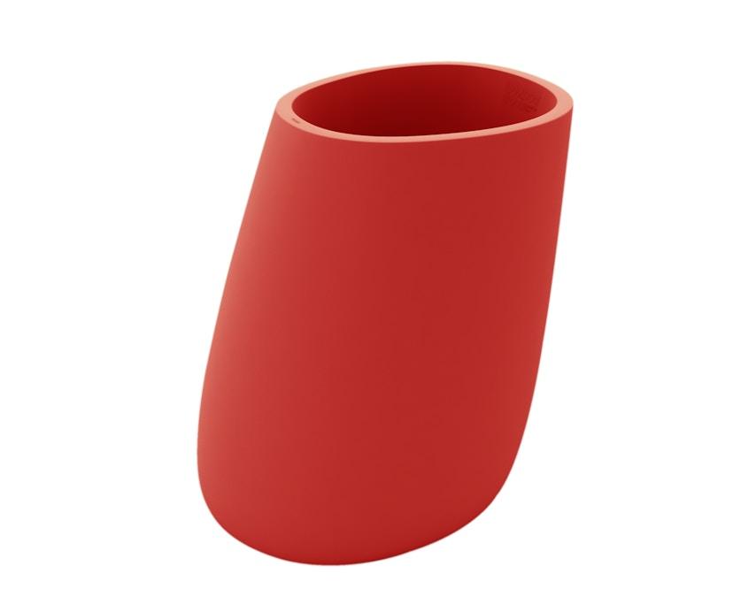 Vondom - Stone Blumentopf - rot - 120 - 0